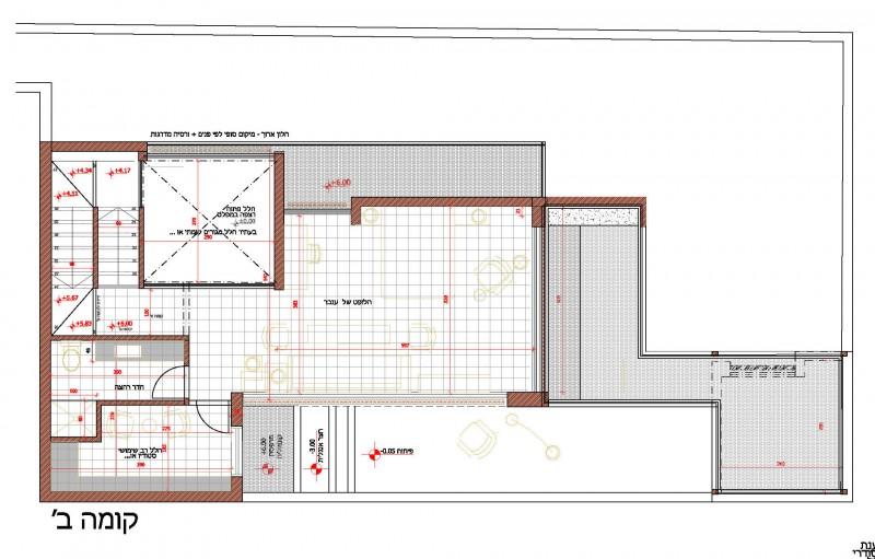 INB P +6.00 תכנית קומה ב