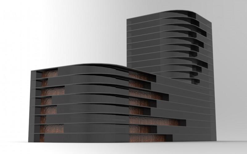 גל טבת אדריכלים | Tevet Architects & Associates | Massing